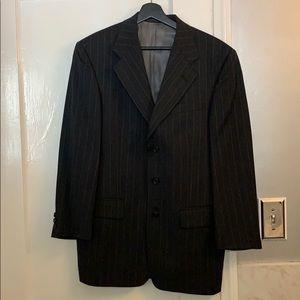 2 piece pinstripe suit